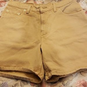 Vintage 550 Levis High Waist Relaxed Fit Tan USA